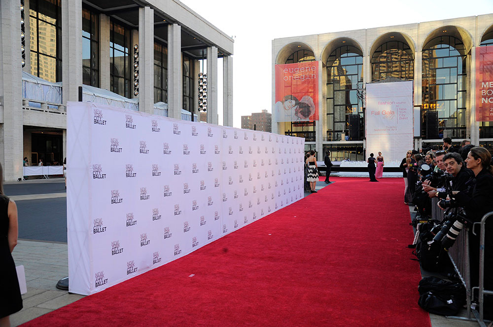 red carpet gala event rug